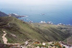 View from Garrapata Ridge along the Big Sur Coast