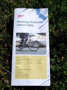 AAA Monterey-Salinas map