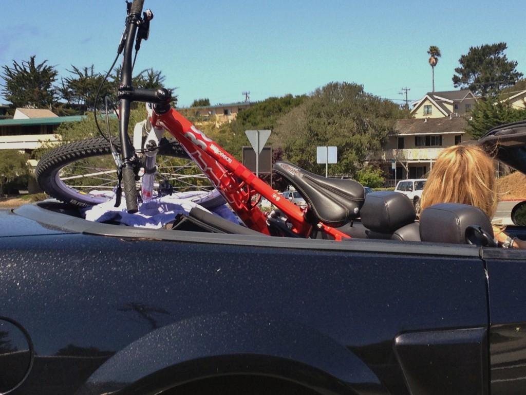 Bike-and-ride convertible - Monterey - May 2013