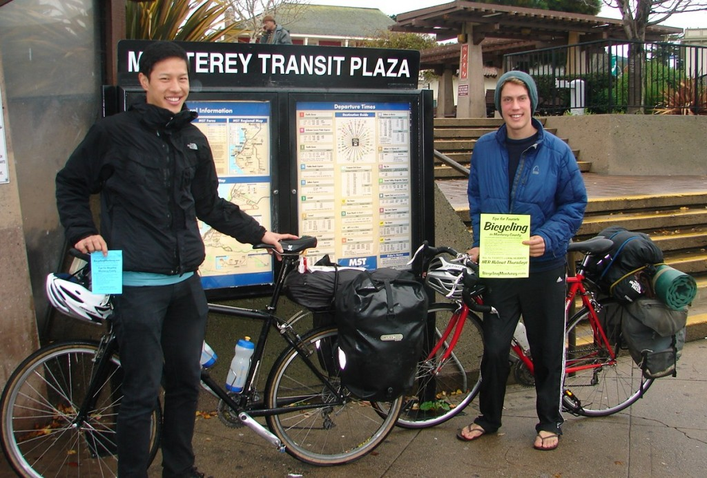 Derrick Chao and Kyle Ingebretson downtown Monterey 18 Dec 2010