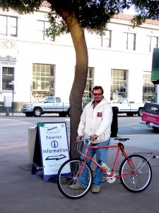 Salinas - Visitor info & Steve Nichols