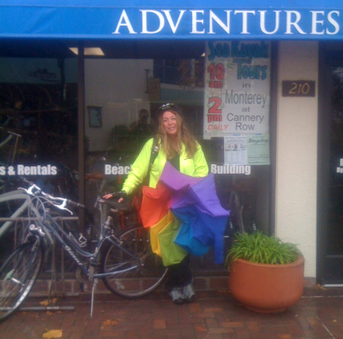 Rain Cold Temps And More Biking Through The Seasons