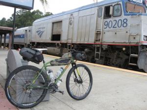 Devian's bike at Amtrak - shapeimage_2