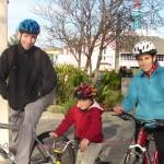 Family at wharf - trio - cropped taken off 1 April 2011 033