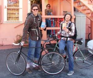 Shopping - Biking for books