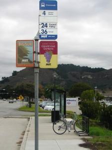 Crossroads bus stop - DSC00142