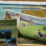 Valet claim checks and bike maps