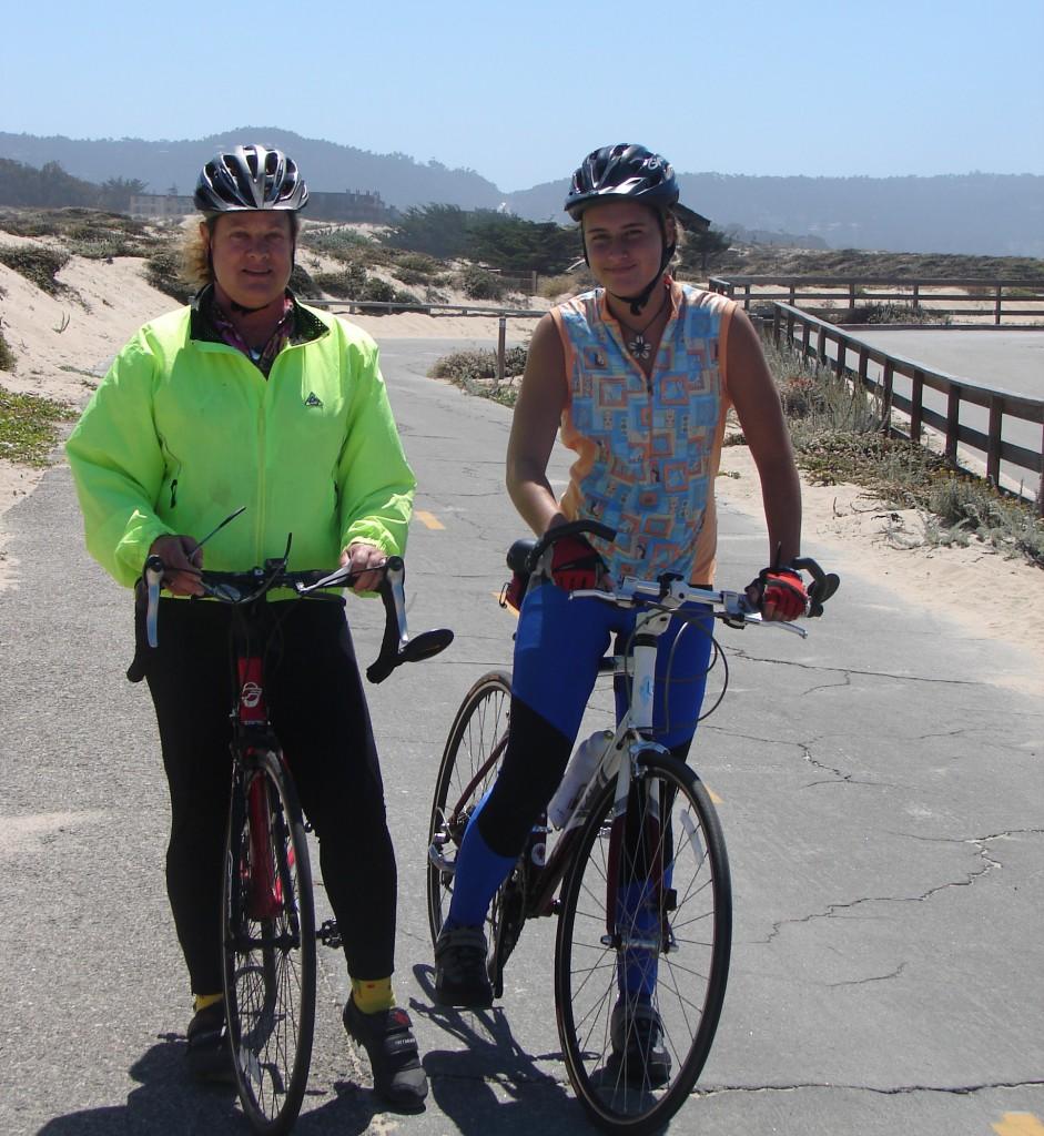 Woman from Santa Cruz and visiting granddaughter (5)