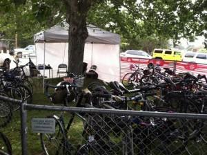 Bike valet 2013 Jazz Fest GPC