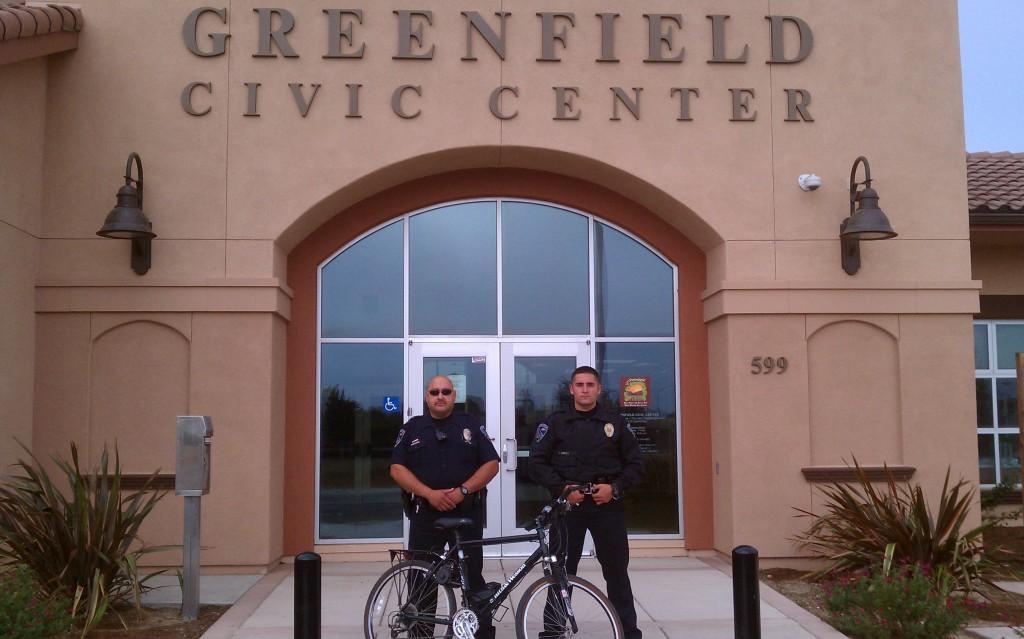 Greenfield cops at Civic Ctr - Aug 2012 IMAG0411