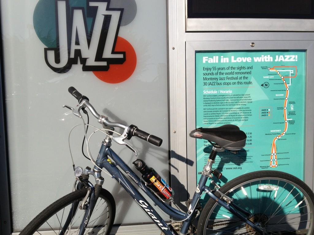 Sept 27-29, 2019: Monterey Jazz Festival bike valet service