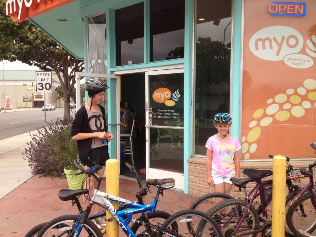 MYO Salinas - Bike rack needs
