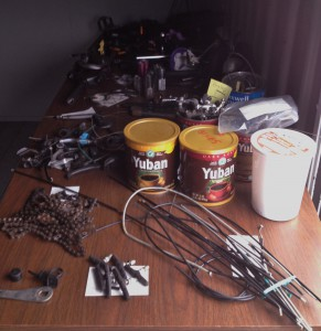 Sorting parts