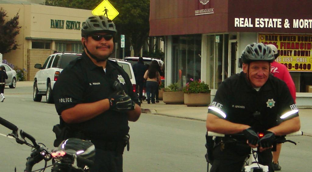 Salinas Cops July 2012 parade eve