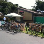 Green Pedal Couriers 831-920-8181 bike valet at many Monterey Fairgrounds events
