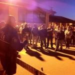Ciclovia Salinas 10-6-13 6am barricade volunteer training with Kelly McMillin