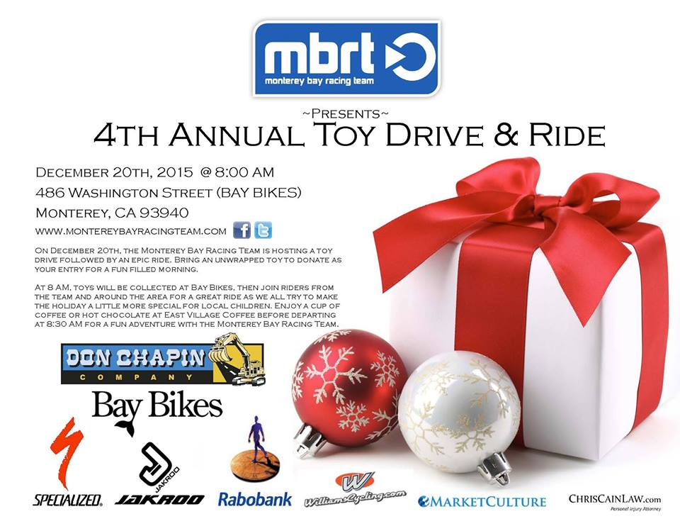 4th MoBayRacing Toy Drive