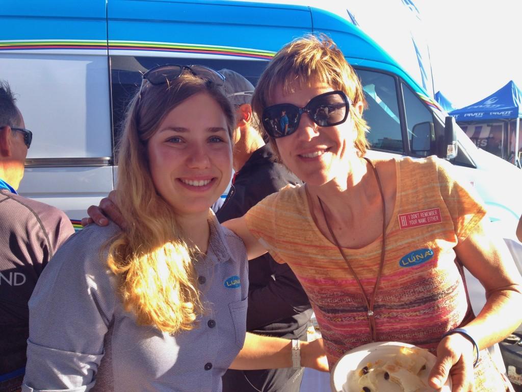 Andrea Waldis and Marla Streb