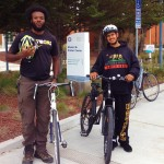 Bernard Green and Jerry Ramos - students at CSUMB and Hartnell