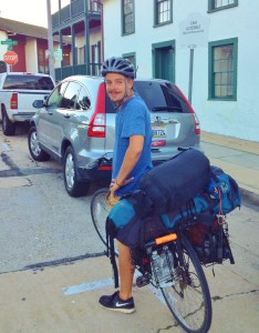 Bike touring Casa Guiterrez