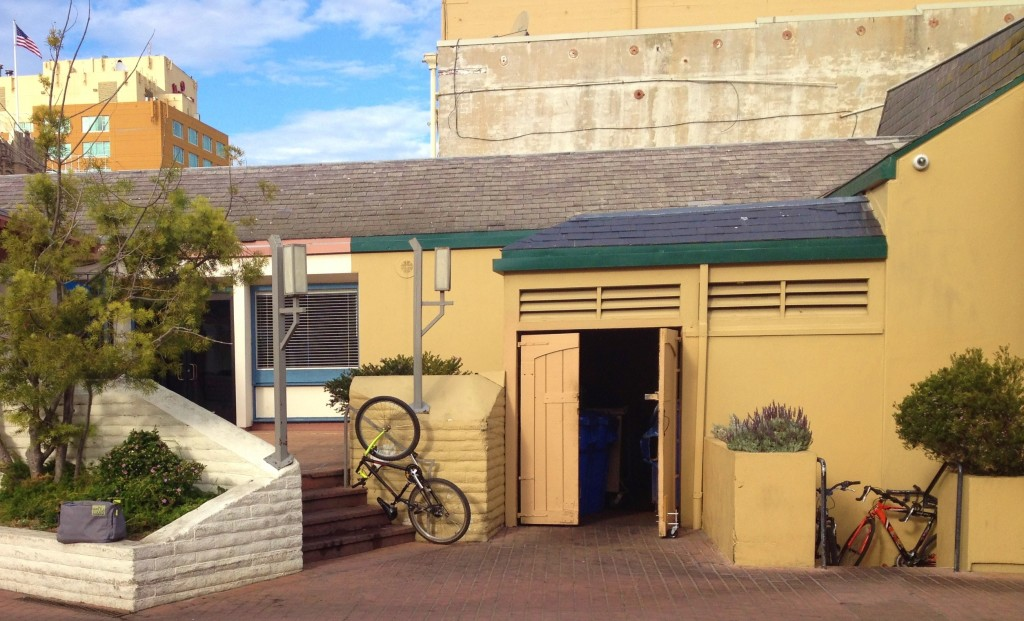 Bonifacio Plaza need for bike racks