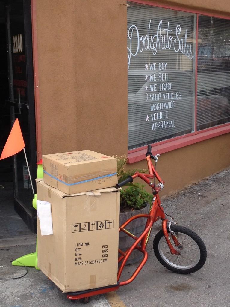 Cargo bike at Doty's Auto 2012