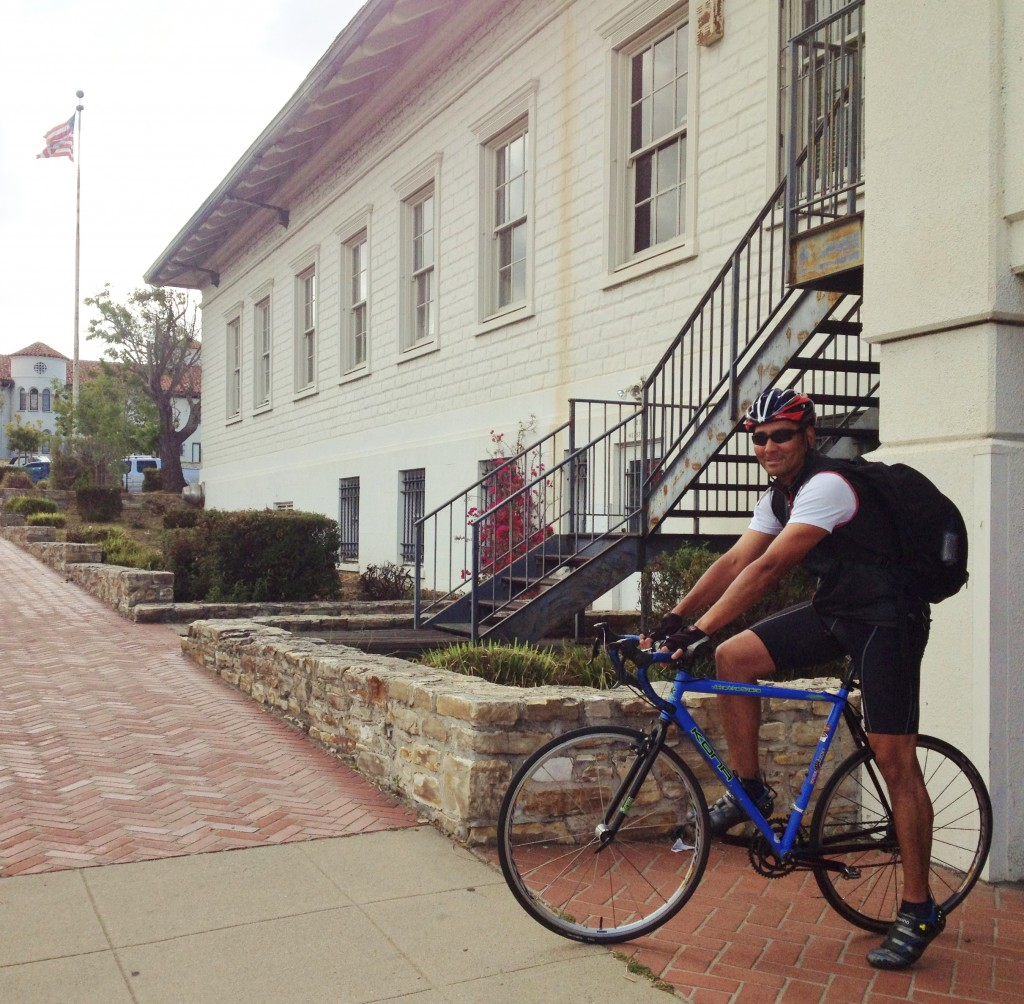 Coast Guard veteran - Marina resident - bike to work commuter at Monterey PO