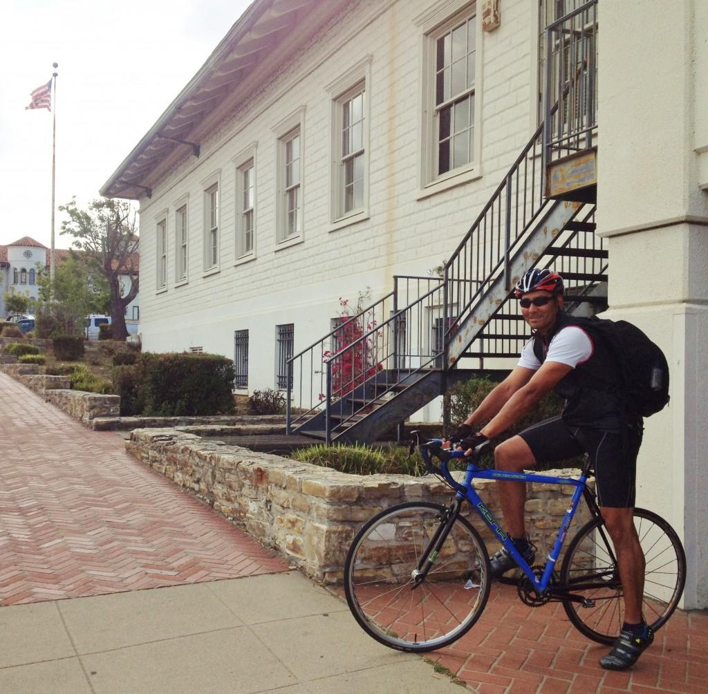 Coast Guard veteran - Marina resident - bike to work commuter at Monterey PO