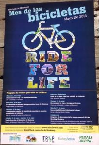 Condado de Monterey Mes de las bicicletas Mayo de 2014