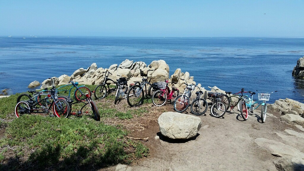 Courtesy of Smokes and Spokes of San Jose - 2015 summertime on MoBay coast trail