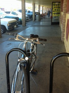 East Alisal shopping center bike rack