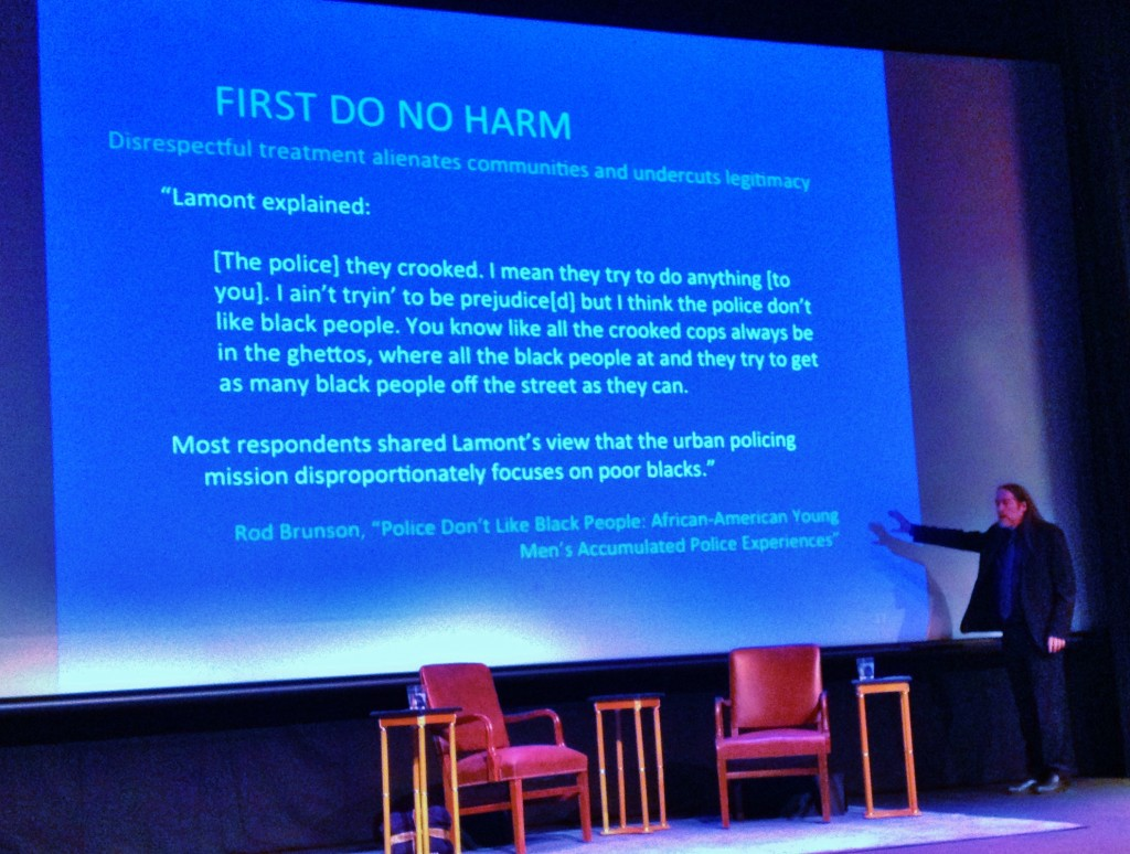 First Do No Harm - David Kennedy at CSUMB