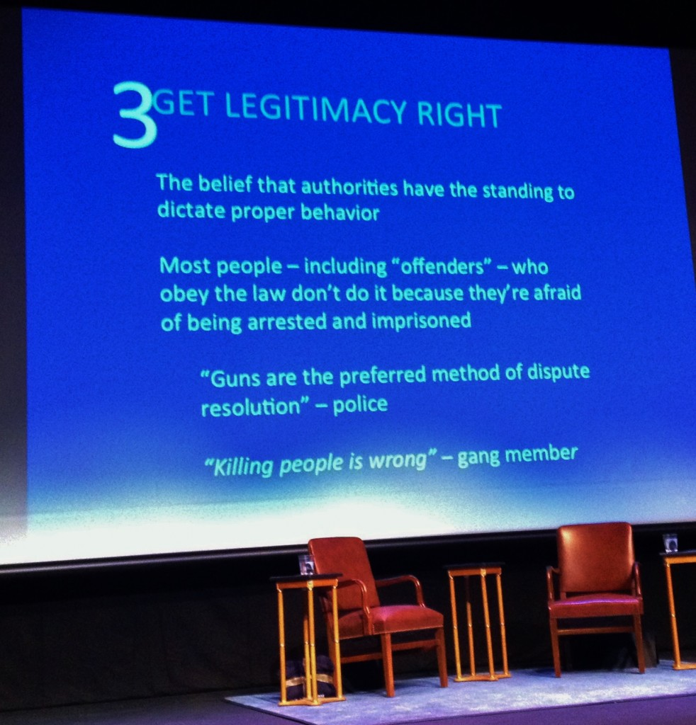 Get Legitimacy Right - David Kennedy CSUMB talk March 2014