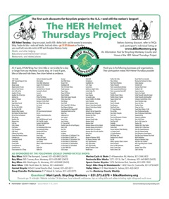 HER Helmet Thursdays 5th Anniversary poster JQ2
