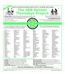 HER Helmet Thursdays 5th Anniversary poster - ds