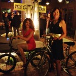 Mireya and Vera at Wave Street Studios - Velo Monterey 2013 holiday party (2)