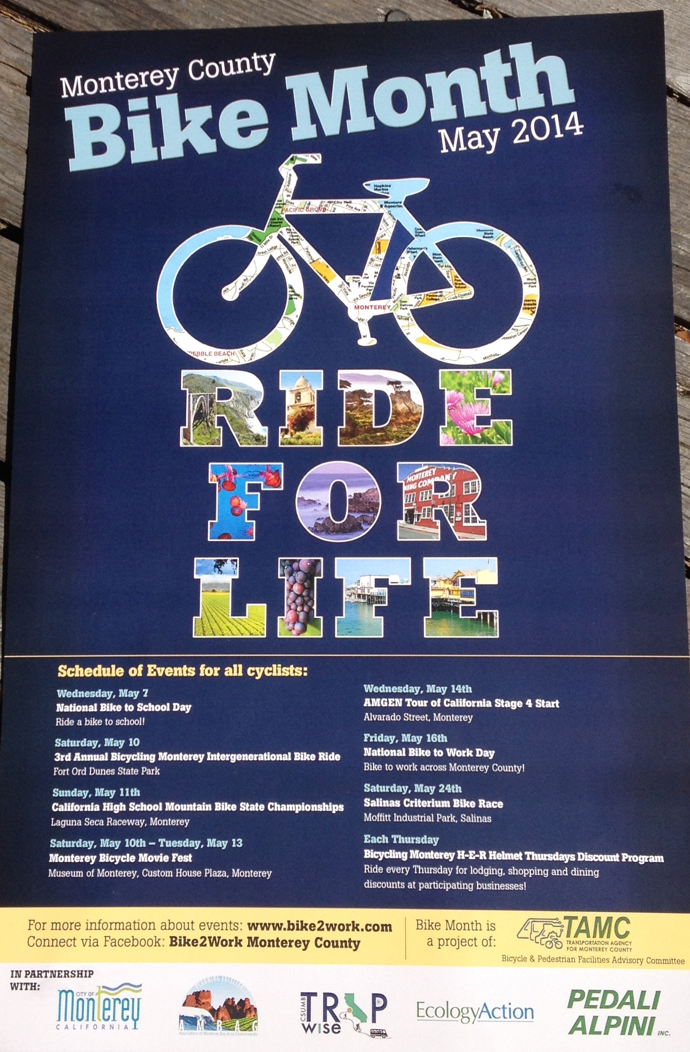 Información en español sobre las bicicletas: A compilation of