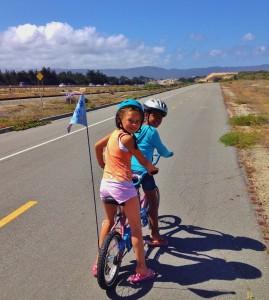 Monterey Park girls at Intergenerational Ride 2014