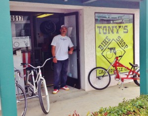 Tony's Bike Shop Castroville - Saul Soto - 30 May 2015