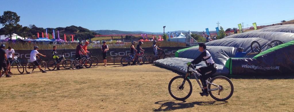 Velocity Bike Park at Sea Otter Classic